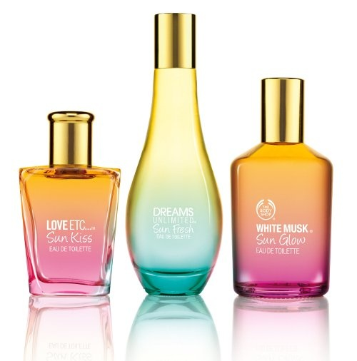 Win! From the Body Shop-All three summer fragrances + summer body purees exp=July 9/12.