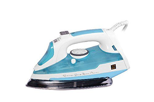 ZZ ES2316 Motion Sensor Steam Iron With Auto Off , With Vertical Shot of Steam along with Variable Steam Control and Non Stick Stainless Steel Soleplate with Anti Drip System , 1500 Watt, white/Blue //Price: $25.99 & FREE Shipping //     #hashtag4