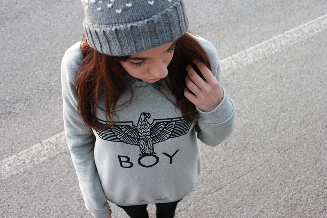 theannelicious.com  #outfit #streetstyle #boylondon #ootd #redhead #italian #girl #look #fashion #style #punk #alternative #inspiration #details #sweater #winter #fashion #blogger #theannelicious
