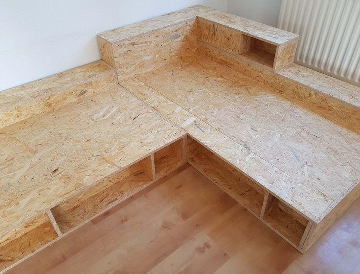 Sofa selber bauen mit diesem Bauplan! Dieses Sofa …