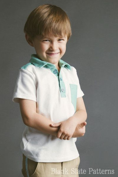 Perfect Polo / 18 mos - 8 years/ $7.95