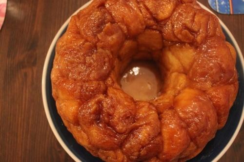 Monkey Bread with Cream Cheese Glaze.....YUM | Desserts | Pinterest
