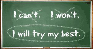 I will try my best.