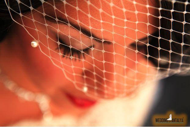 Iranian Wedding makeup bride