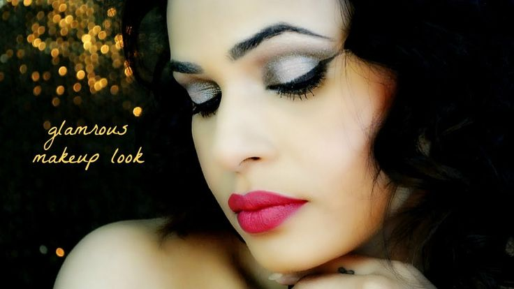 Glamrous Makeup look | How to Cook or Bake your Makeup