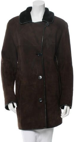 Birger Christensen Shearling Coat
