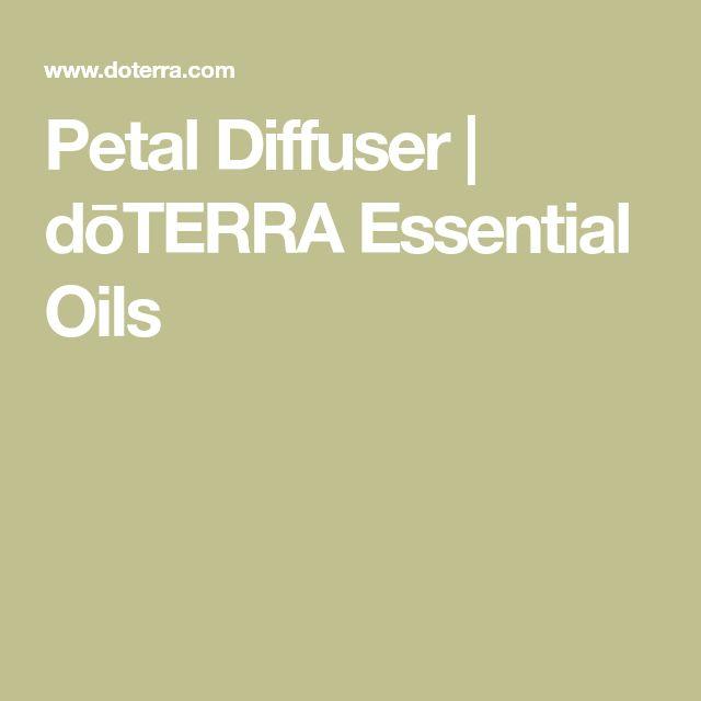 Petal Diffuser | dōTERRA Essential Oils