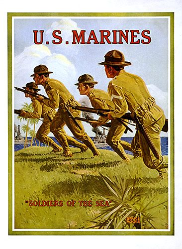 U.S. Marines by  Unknown Artist