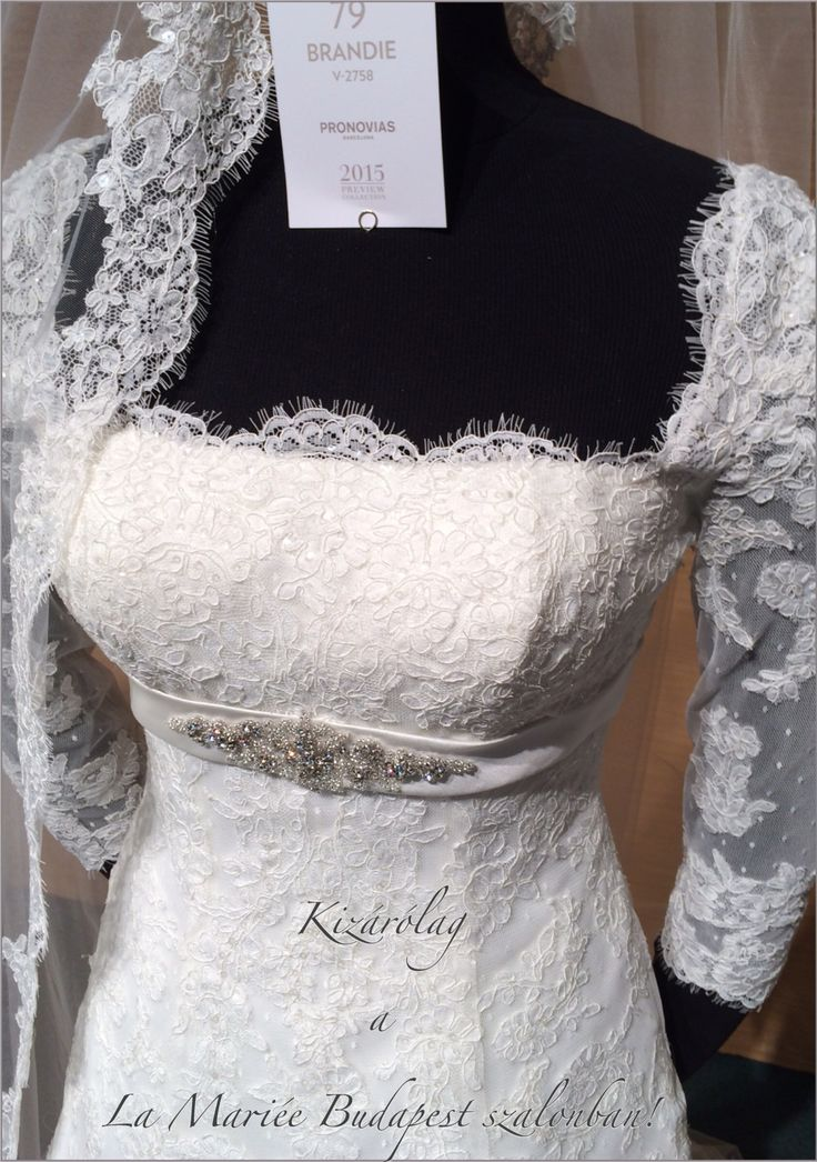 Brandie esküvői ruha - Pronovias 2015 kollekció  http://mobile.lamariee.hu/eskuvoi-ruha/pronovias-2015/brandie