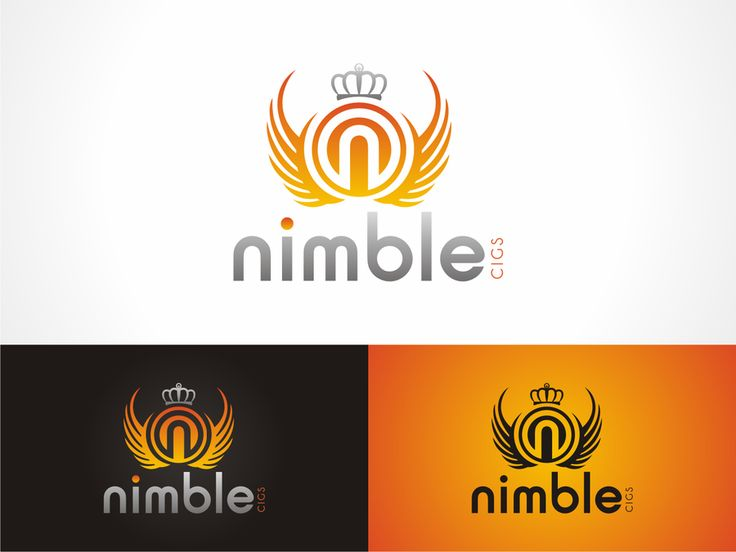 "LOGO for ""NIMBLE CIGS"" Electronic Cigarettes. BE APART OF 1 OF THE FASTEST GROWING INDUSTRIES WORLD WIDE! by kheri"