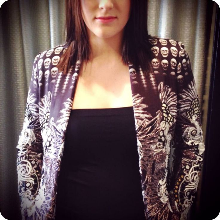 New Camilla Jacket in-store now! Perfect for our Autumn days and nights!