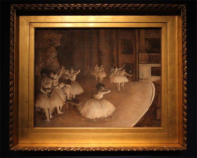 Prove di balletto in scena, 1874. Le celebri ballerine di Degas in mostra a #Torino