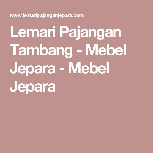 Lemari Pajangan Tambang - Mebel Jepara - Mebel Jepara