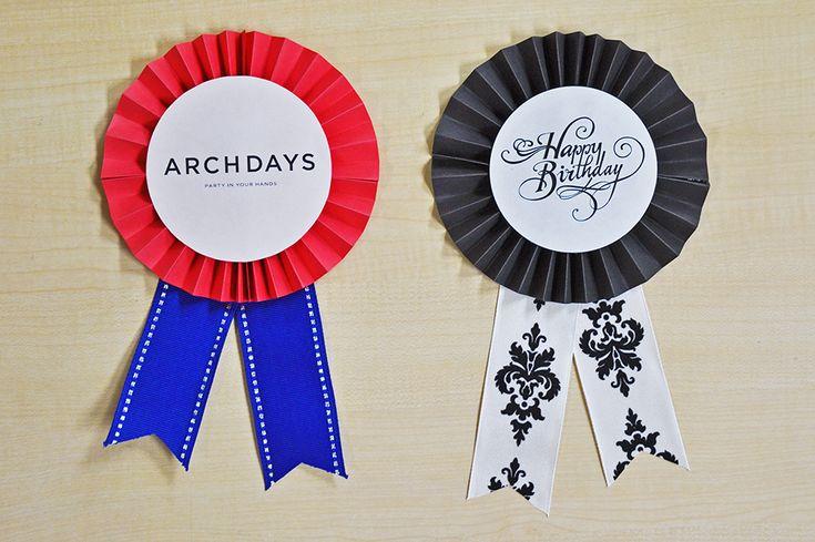 先日、ARCH DAYSでご紹介したOIWAI LABOさんの「ペーパーファンでパーティーをより華やかに!」を応用して…