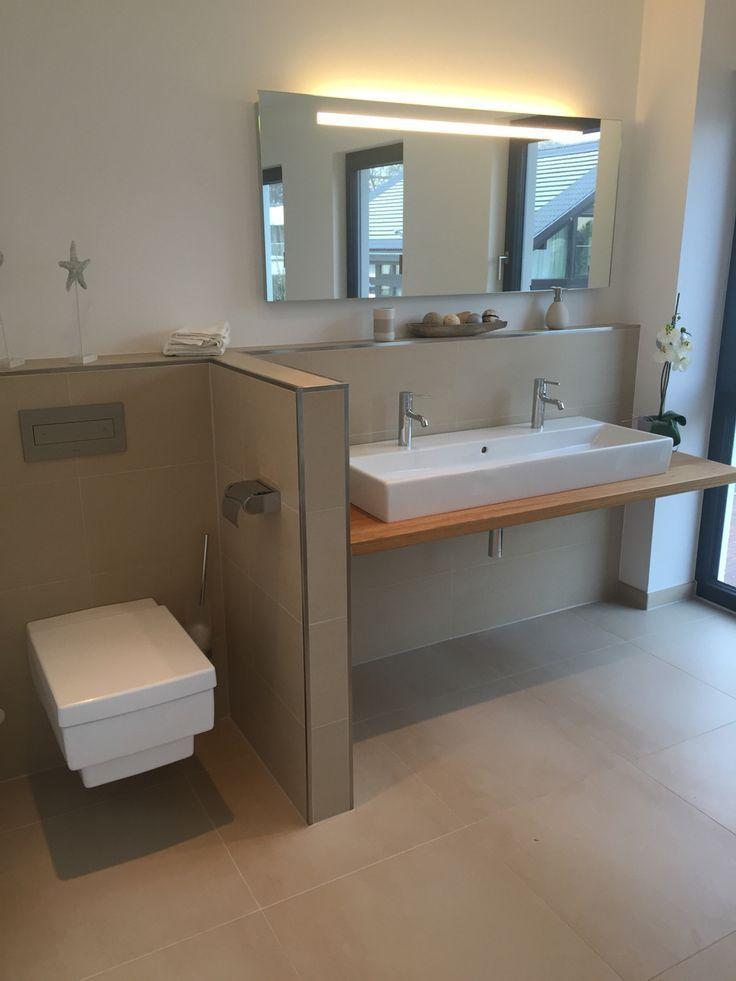 WC Scharmwand – Badezimmer – #Badezimmer #Scharm…