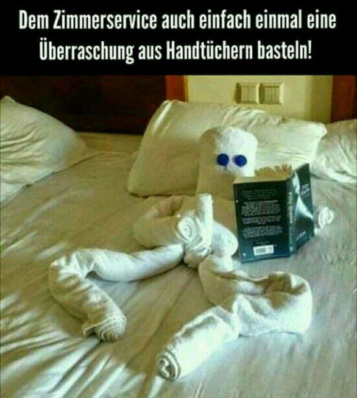 Wenn man ausreichend Handtücher hat...