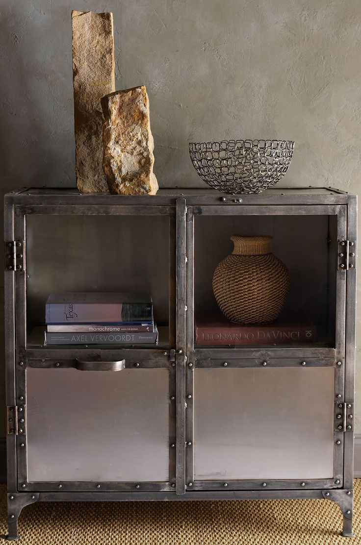 17 best ideas about metal cabinets on rustic