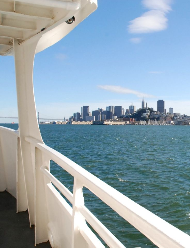A view of San Francisco from the Alcatraz ferry. Zippertravel.com