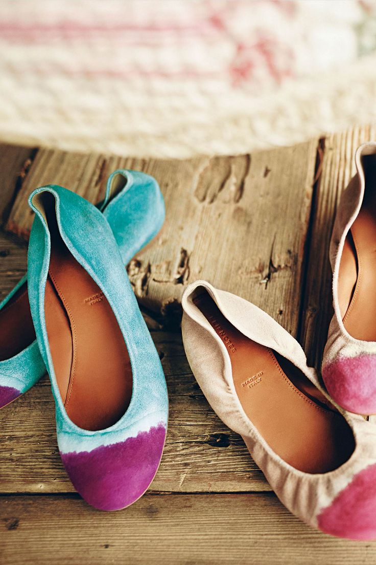 #TaikaFlats #Anthropologie: Shoes, Anthropology, Dips Dyed, Dips Dyes, Cute Flats, Taika Flats, Ties Dyes, Ballet Flats, Handpaint Taika