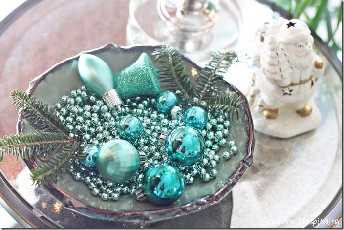 Christmas Home Tour 2013 | Pottery bowls, Ornament and