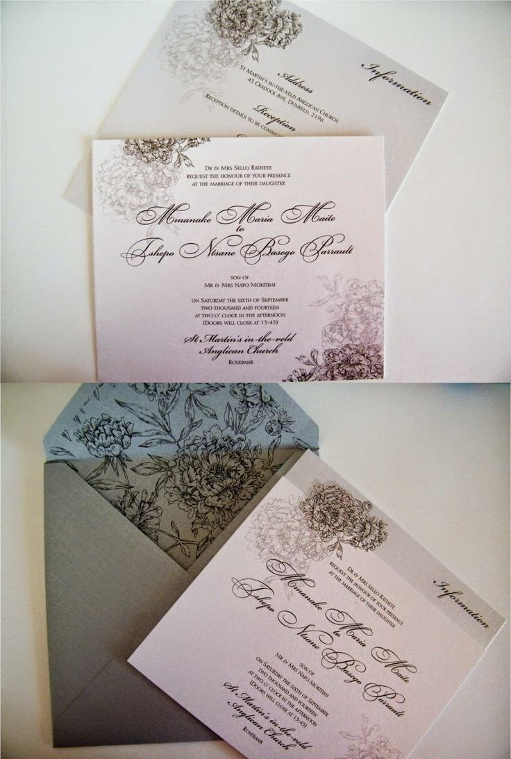 Inanda Polo Club Wedding invitations | Trendy Settings Blog