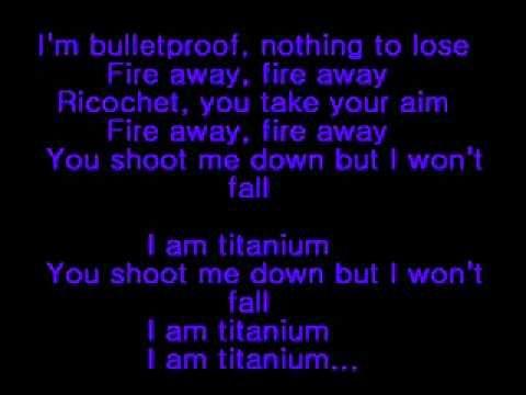 David Guetta ft Sia - Titanium (lyrics) @atziryp