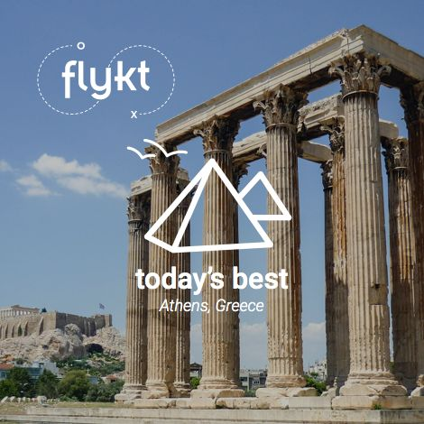 Today's Best, History and Culture: Athens, Greece! Let's go for some western culture history lessons and sightseeings!