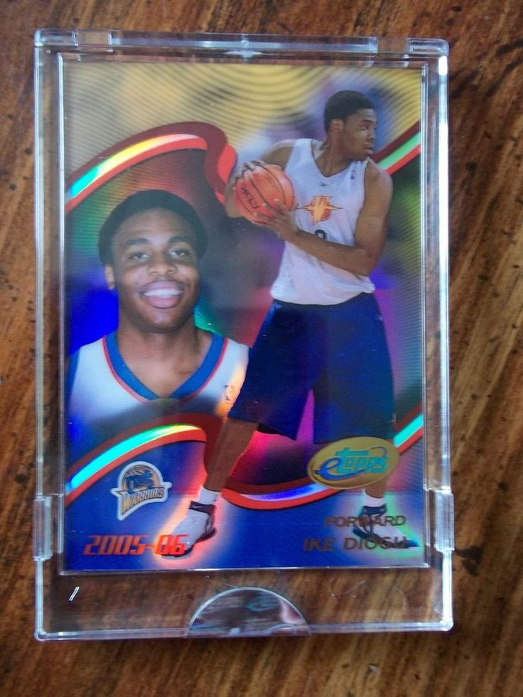 2005-06 eTopps #52 Ike Diogu RC Uncirculated Basketball Card #GoldenStateWarriors