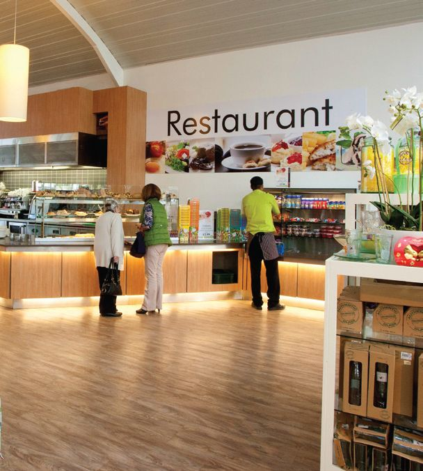 Ifse designed and installed catering facilities at Squires Garden centres in Shepperton and Badshot Lea.