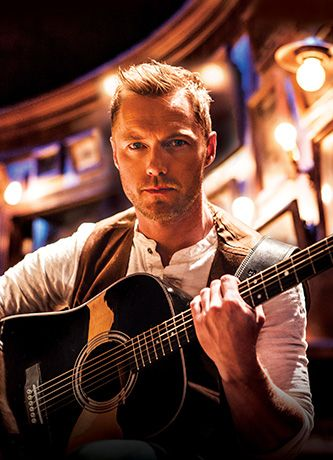 Ronan Keating at Once the Musical