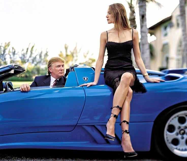 #Трамп и его автомобили #Trump and his cars - #Trumpcars   В гараже Дональда Трампа побывало множество самых редких и дорогих автомобилей мира. Некоторые хранятся до сих пор. Другие давно проданы. Один из таких — #Lamborghini#Diablo #Roadster VT (этот индекс означает полный привод). Автомобиль представили в декабре 1995 года на автосалоне в Болонье. Трамп приобрел один из первых товарных экземпляров.