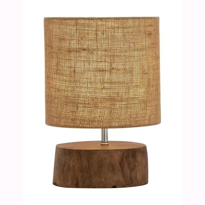 Amazing wood mahogany log lamp nebraska furniture mart