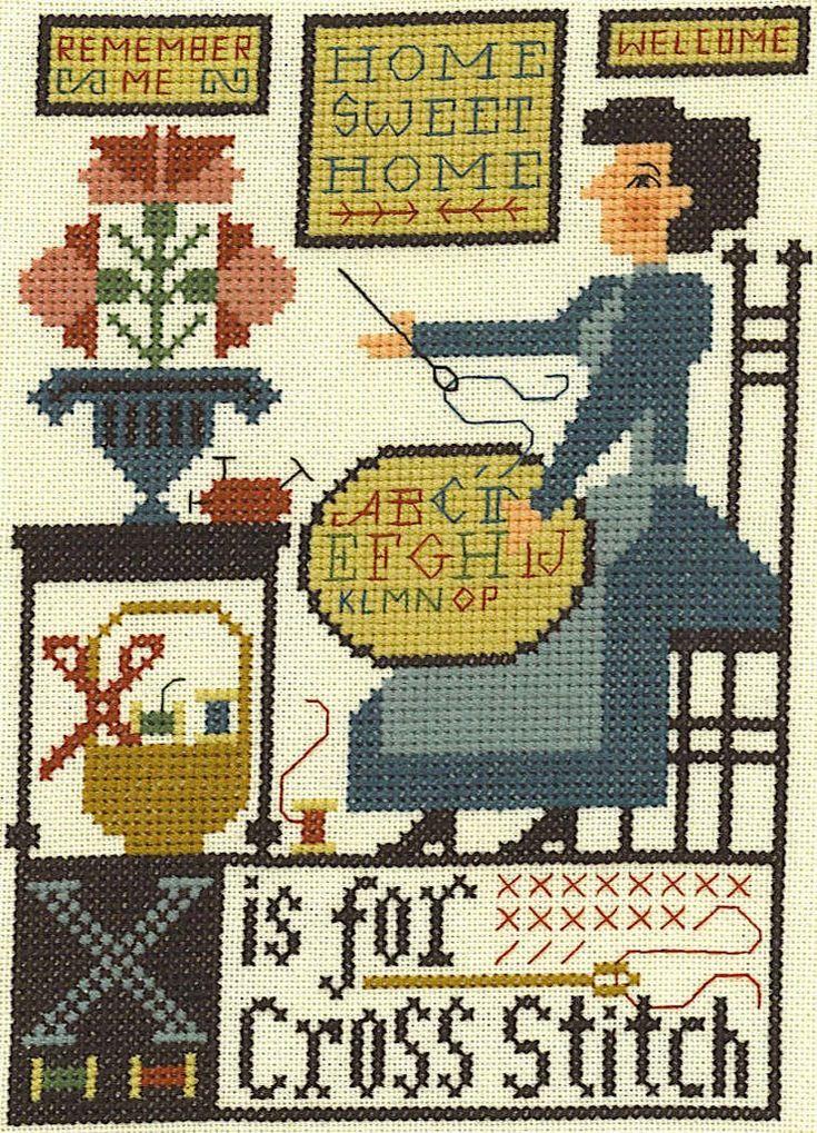 Wendy ~ Home at Work: Prairie Schooler Alphabet Blocks