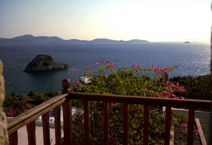 Merope - The view of the sea from the big veranda is magical.