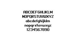 Miniml fonts (free fonts > bottom page)  Miniml fonts are vector-based pixel web fonts designed to remain aliased in web applications, including the HTML5 css @font-face property and Adobe Flash. Convert fonts at Font Squirrel to subset and optimize for webfont use.