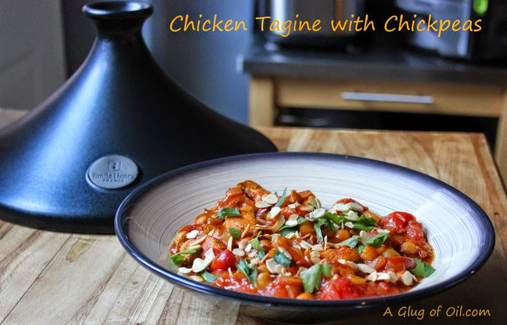 Glug of Oil: Chicken Tagine with Chickpeas - Simple Recipe | A Glug ...