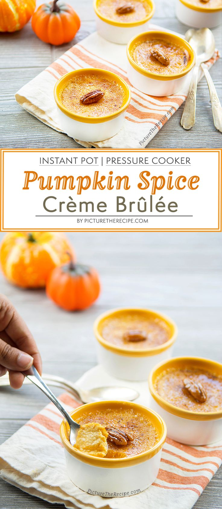 How To Make Pumpkin Spice Crème Brûlée