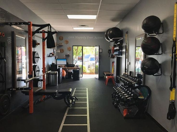 Group Fitness Training Just Got A Whole Lot Easier With Space Saving Equipment Solutions Gym Room At Home Home Gym Garage Home Gym Design
