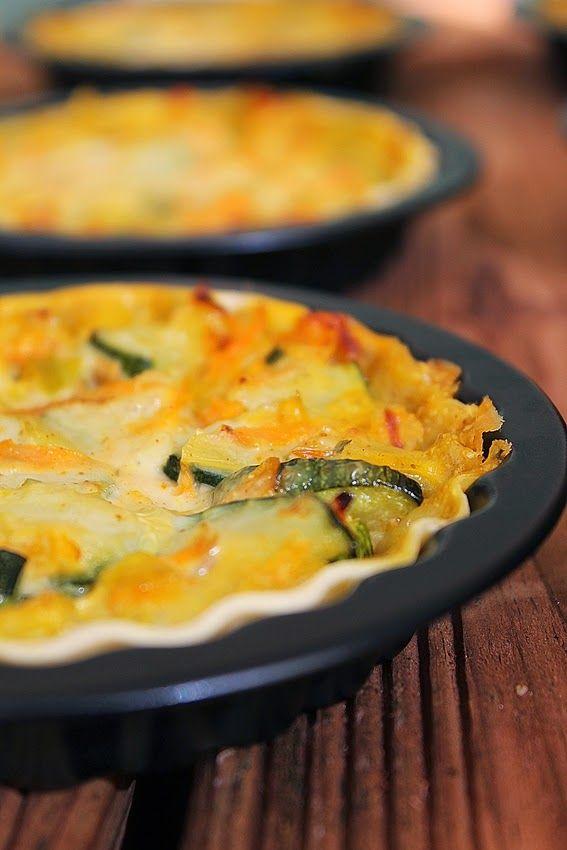 Cozinhadaduxa: Tarteletes de Legumes com Caril