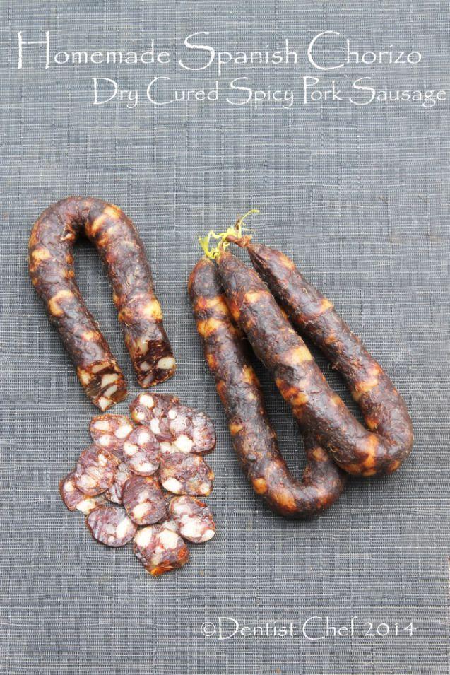 recipe homemade spanish chorizo from scratch dry cured smoked paprika sausage pork chili spicy choriso