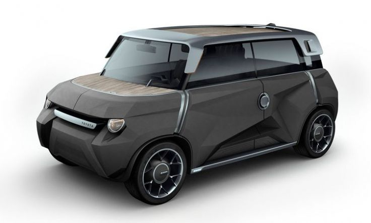 Toyota's Cool Concept Car - A Car with Panels You Replace Yourself
