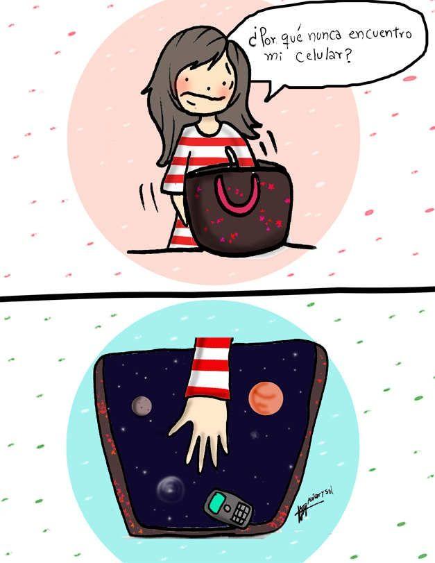 Mi cartera = la dimensión desconocida