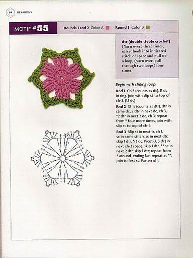 .: Edie Eckman, Squares Crochet, Bscrochet289029Jpg 11991600, Crochet Application, Motif 55, Crochet Patterns, Aplicaciones Crochet, B S Crochet 2890 29 Jpg