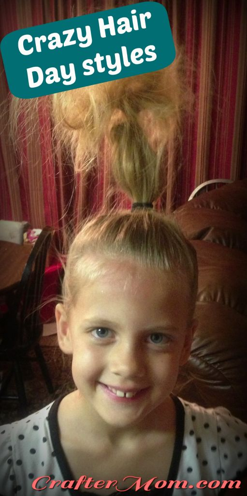 Crazy Hair Day Styles For Your Kid