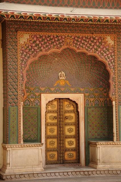 Uma porta se abre para você entrar! Jaipur  India