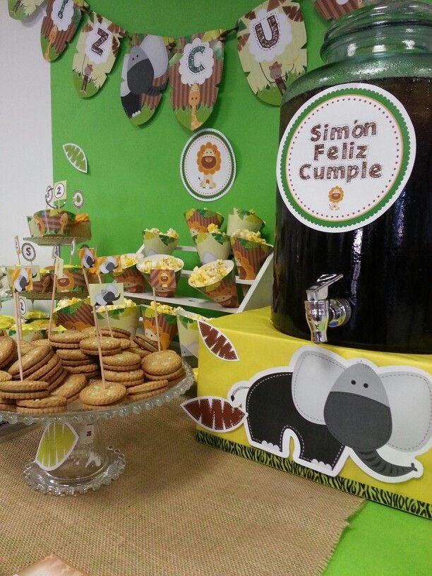 Mesa dulce #selva #fiestas