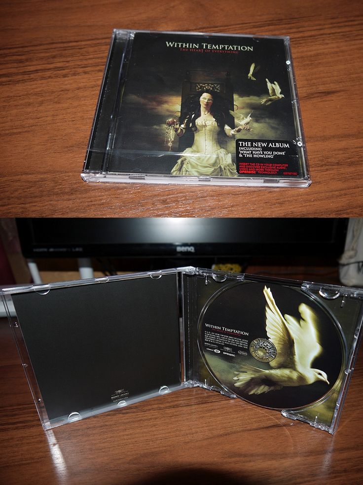 Within Temptation - The Heart of Everything (jewel case) The Netherlands 2007 (first press)