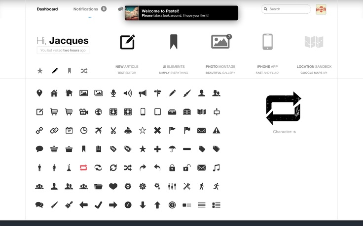 Admin UI Elements