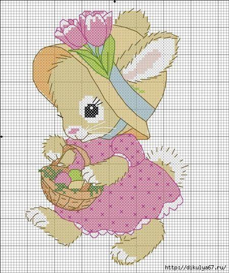 Point de croix *m@* Cross stitch