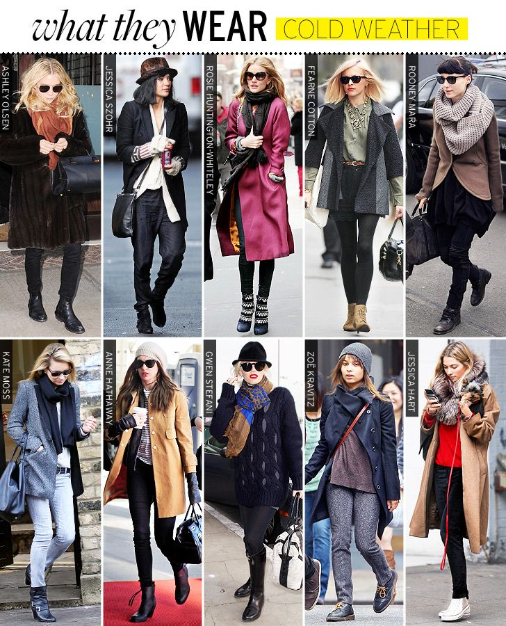 If there is one thing about looking stylish that I find a tad challenging it's looking good in cold weather. It's all about the right jacket, the right layering and the right shoes... if you ask me anyway. And maybe a hit of color here and there too. Here's a few good ideas!